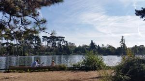 Barque au Bois de Boulogne