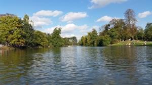 Le lac inférieur du Bois de Boulogne