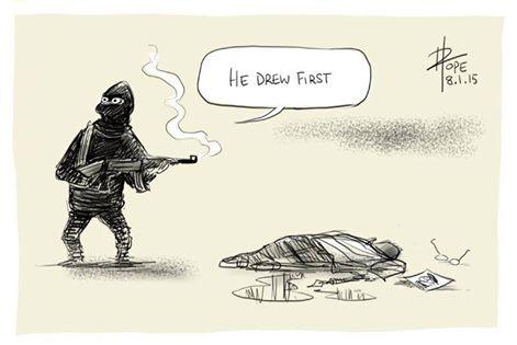 Kalachnikov contre Crayon : il a dessiné en premier, c'est lui qui a commencé !