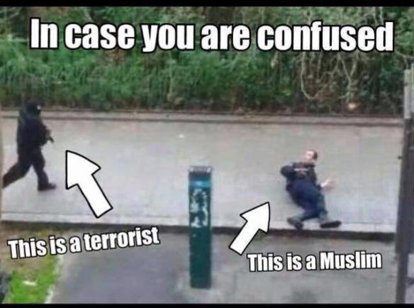 Encore un brave type, courageux, qui se fait assassiner par des terroristes. Il s'appelait Ahmed, il était musulman, mais surtout il a pris des risques pour protéger son prochain. Sans se demander quelle était la religion de son prochain. Pas d'amalgame !