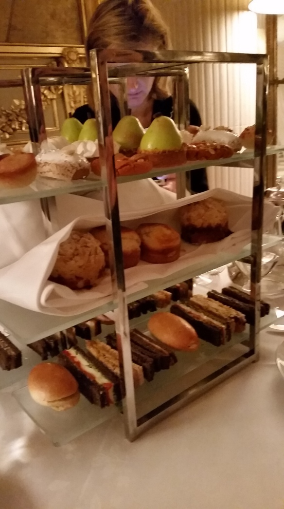 Tea time à l'hôtel Meurice