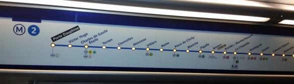 LIGNE 2 METRO PARIS