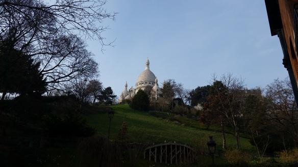 Sacré Coeur, Montmartre, dans la jungle