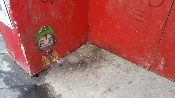 graffiti Madame Arthur Paris 18